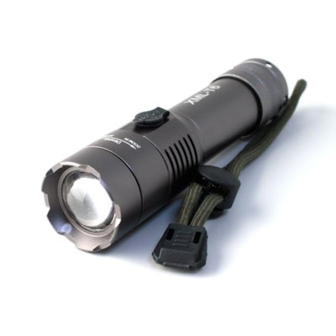 スチュワード伸ばすモトリー懐中電灯 LED懐中電灯 フラッシュライト ハンディライト 2200lm fl-s014