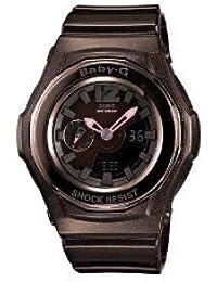 Casio Women's BGA141-5BCR Baby-G Shock Resistant Analog Digital Watch【並行輸入】