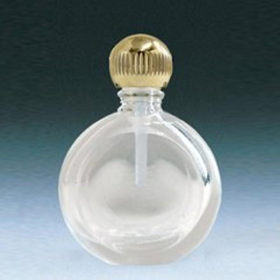 【ヤマダアトマイザー】パフュームボトル 小ビン 60625 新平丸 クリア ゴールド 約2.5ml