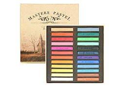 【全24色セット】MASTERS PASTEL 24色セット カラーチョーク パステルチョーク
