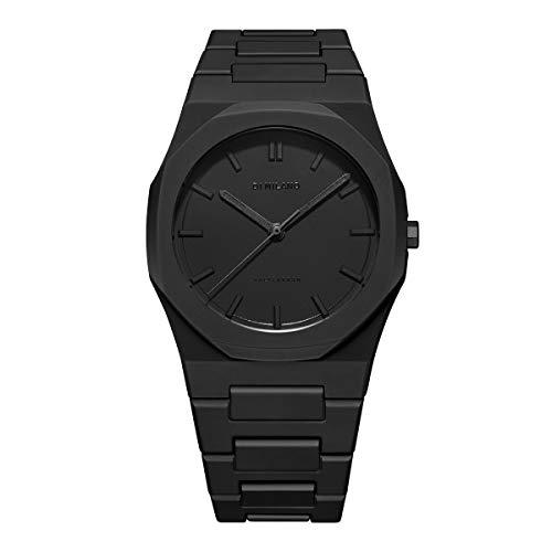 [D1 MILANO]D1ミラノ 腕時計 メンズ <Polycarbon> ポリカーボン ブラック 【日本総輸入代理店】