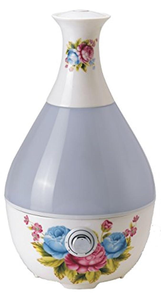 平凡望み離婚器具が大容量超音波セラミック加湿器Aroma Diffuser装飾花瓶形状12035 12035 。