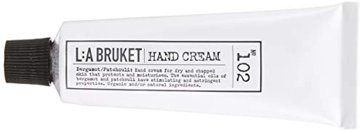 緊張する騒々しい捧げるL:a Bruket (ラ ブルケット) ハンドクリーム (ベルガモット?パチョリ) 30ml