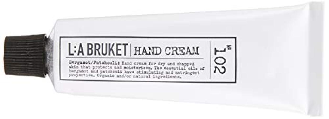 リゾート柱コーチL:a Bruket (ラ ブルケット) ハンドクリーム (ベルガモット?パチョリ) 30ml