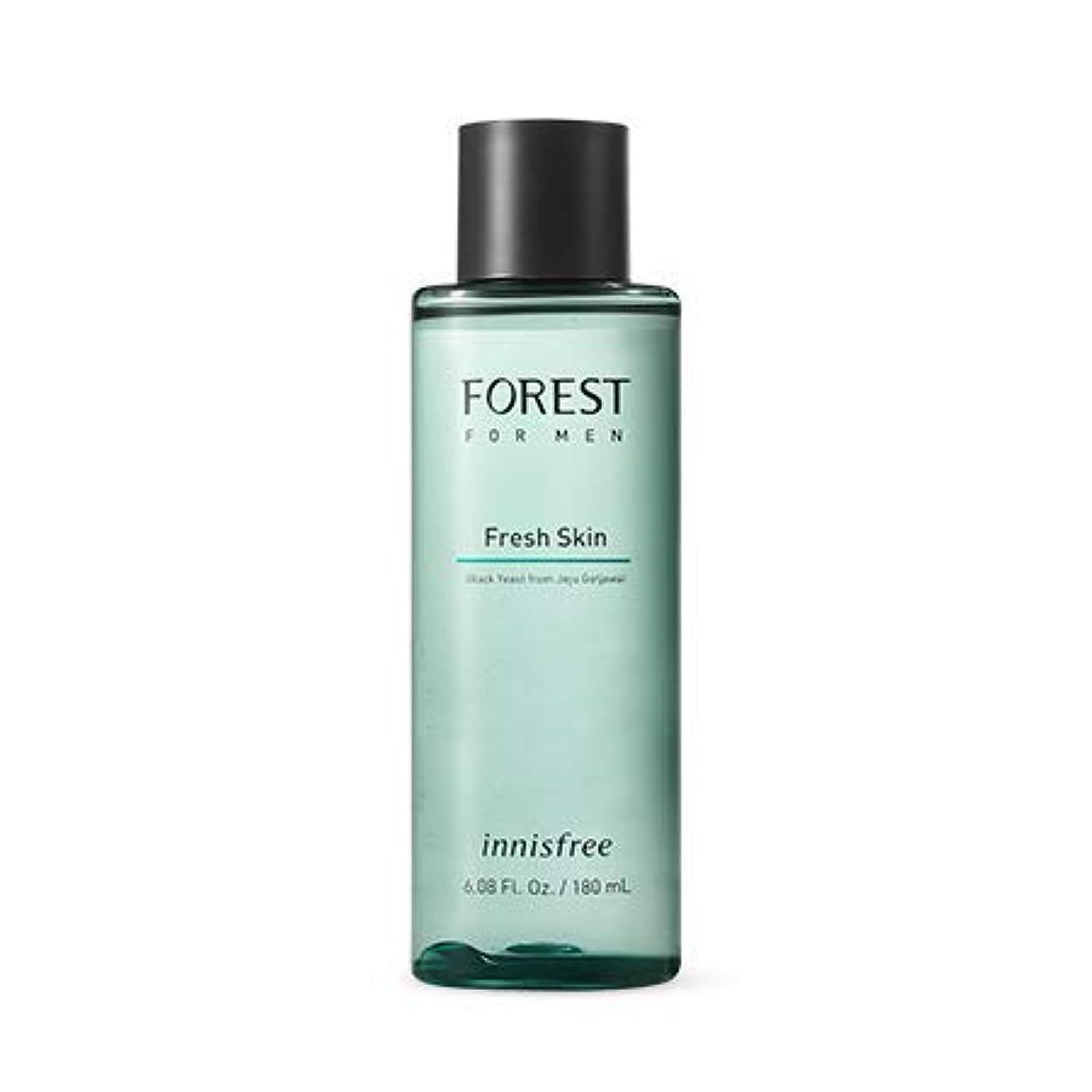 ピストン銅認証[イニスフリー]フォレストフォアマンフレッシュスキン180mL(2019.05 new)Forest for Men Fresh Skin