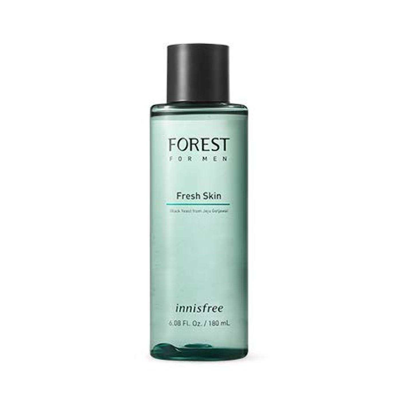 権威鉛じゃない[イニスフリー]フォレストフォアマンフレッシュスキン180mL(2019.05 new)Forest for Men Fresh Skin
