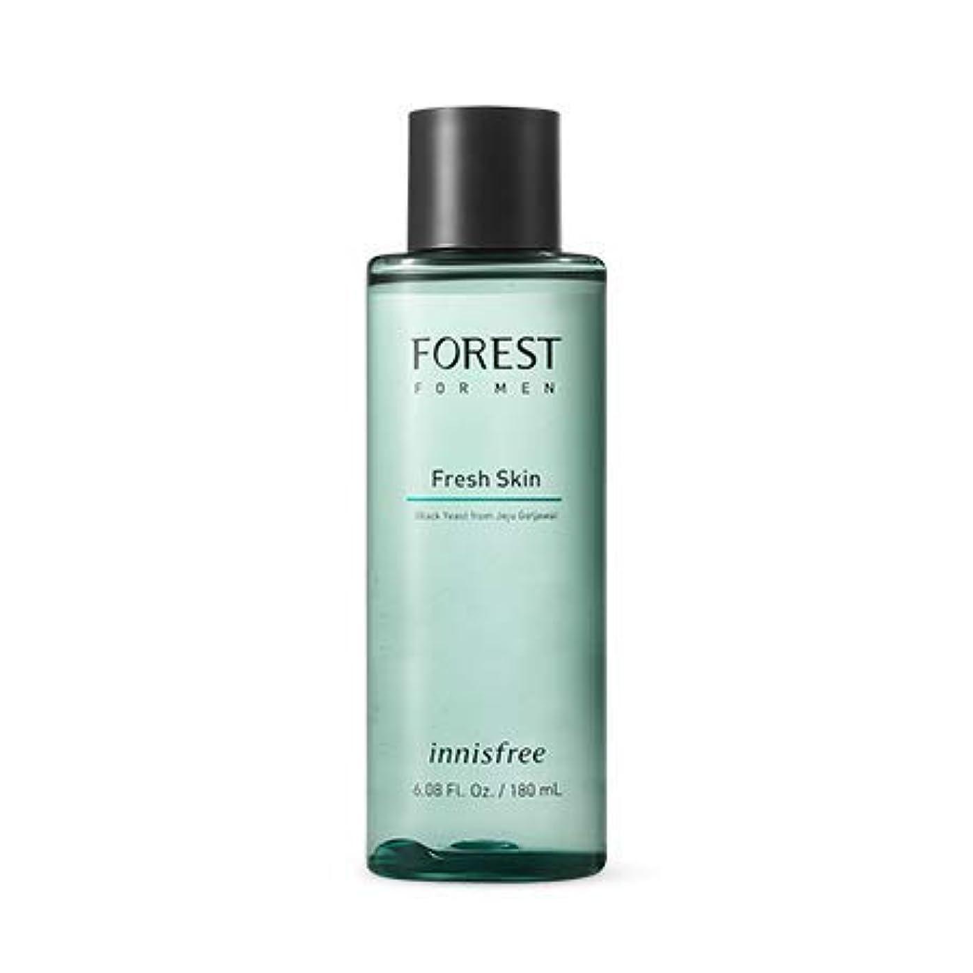茎拒否演じる[イニスフリー]フォレストフォアマンフレッシュスキン180mL(2019.05 new)Forest for Men Fresh Skin