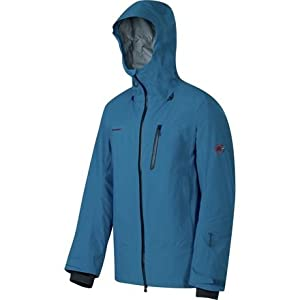 Mammut Alvier HS Hooded Jacket - Men\'s Basil/Chill L [並行輸入品]