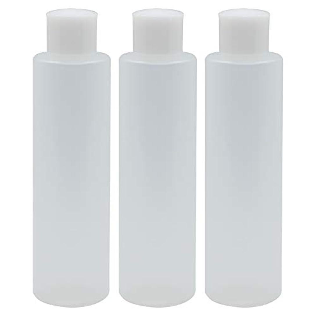 ベイビーバッフル平和日本製 PPボトル 半透明 スクリューキャップ 中栓付き 3本セット