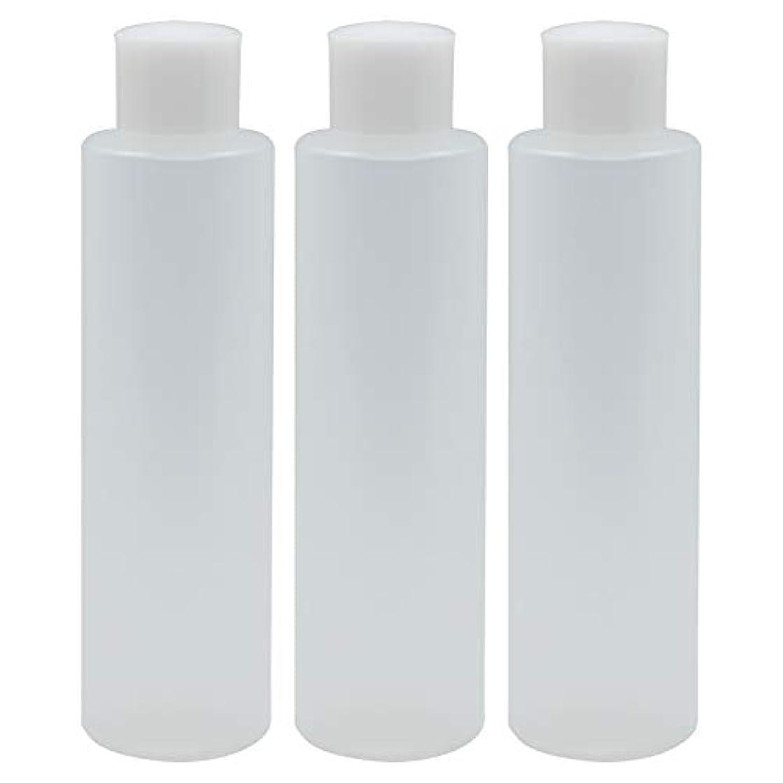 意志に反するスチュワードシンボル日本製 PPボトル 半透明 スクリューキャップ 中栓付き 3本セット