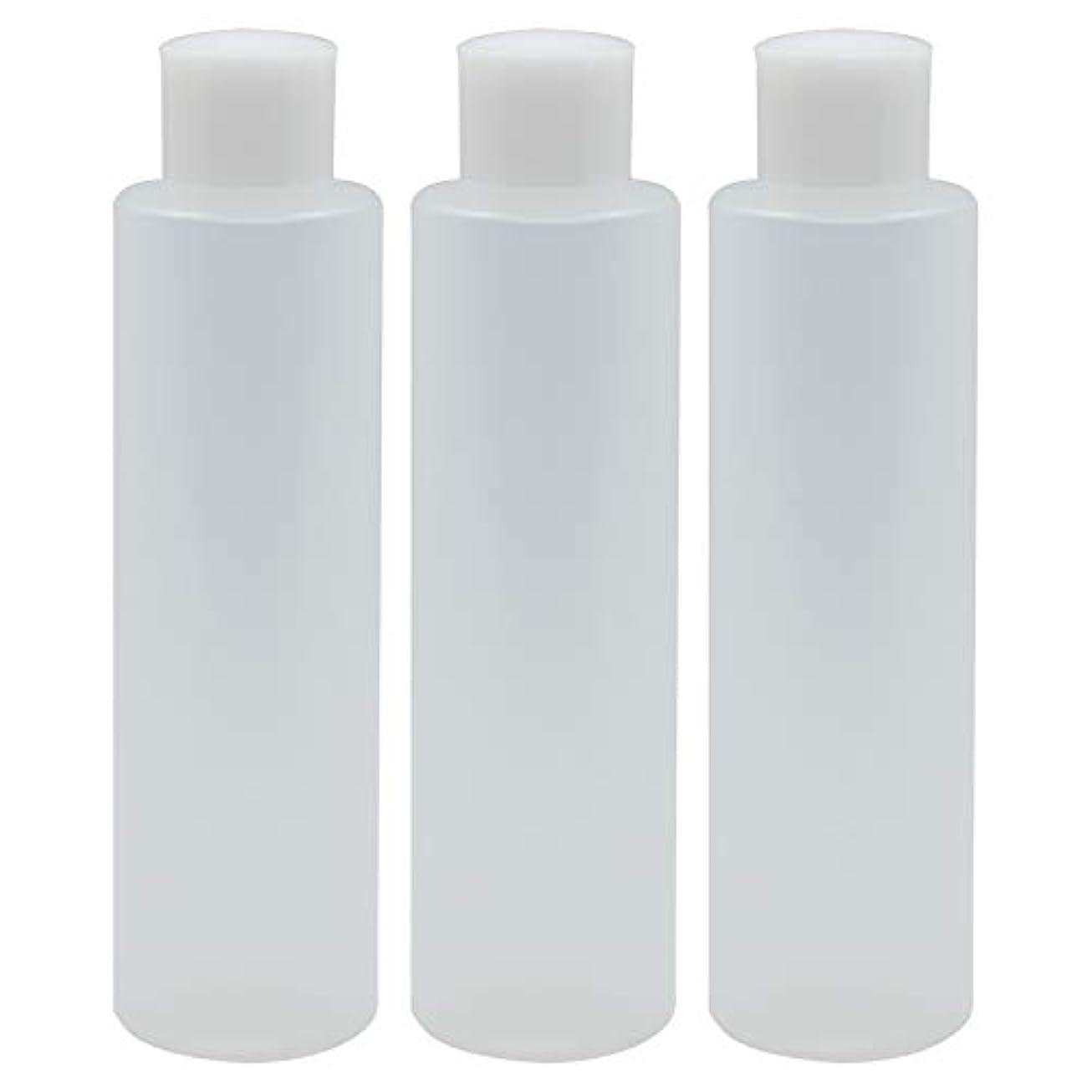 魅力バックアップ負日本製 PPボトル 半透明 スクリューキャップ 中栓付き 3本セット
