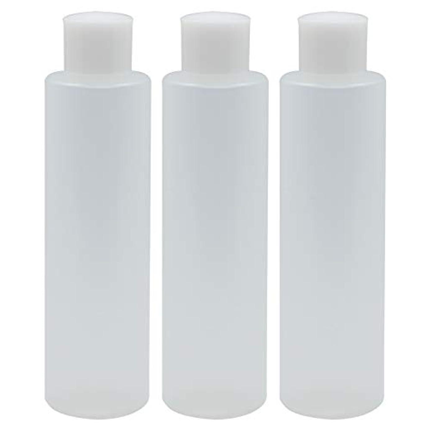 メロドラマティック世界注文日本製 PPボトル 半透明 スクリューキャップ 中栓付き 3本セット