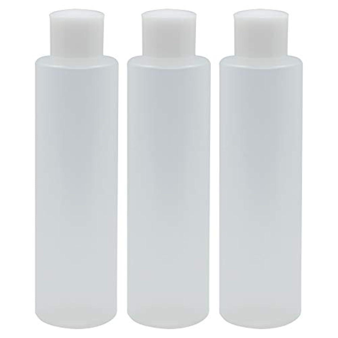 もちろん議題約束する日本製 PPボトル 半透明 スクリューキャップ 中栓付き 3本セット