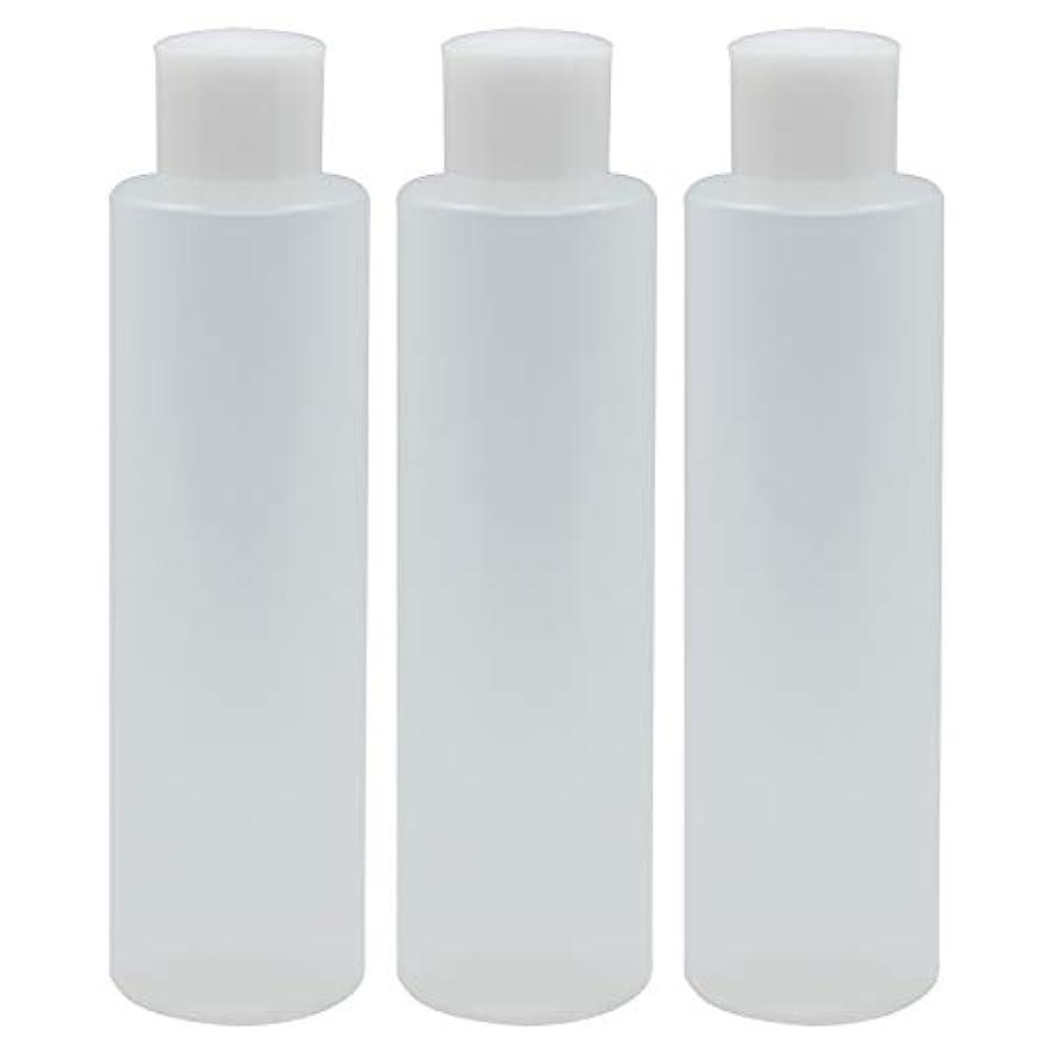モンゴメリー枠時間日本製 PPボトル 半透明 スクリューキャップ 中栓付き 3本セット