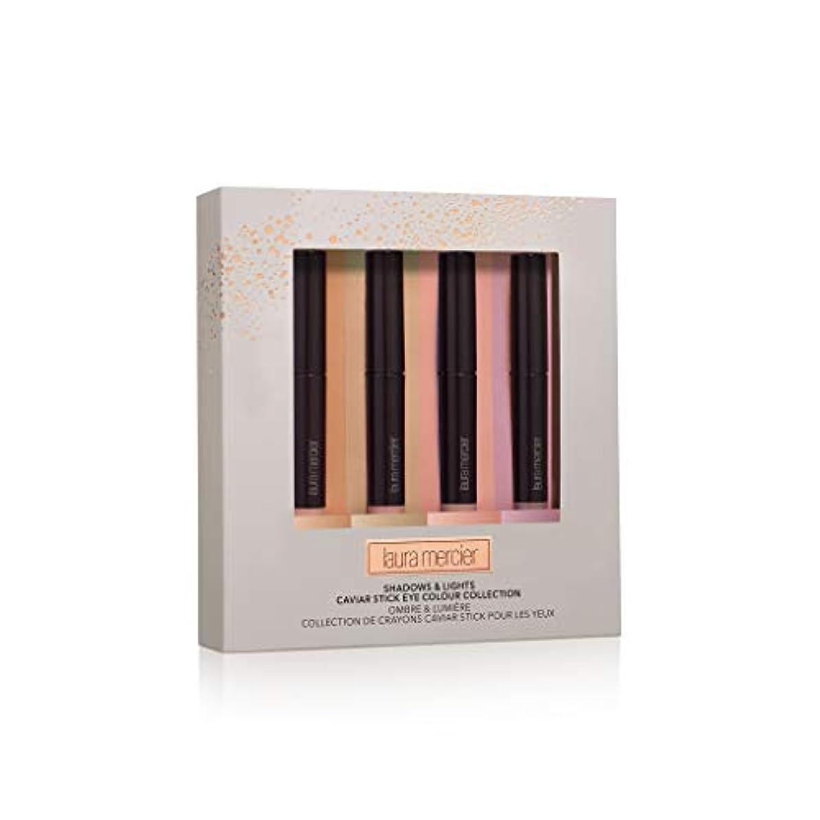 閉じる記述する習字ローラ メルシエ Shadows & Lights Caviar Stick Eye Colour Collection 4x1g/0.03oz並行輸入品