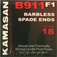 Kamasan b911F1Spade Barblessサイズ20–k3066by Kamasan
