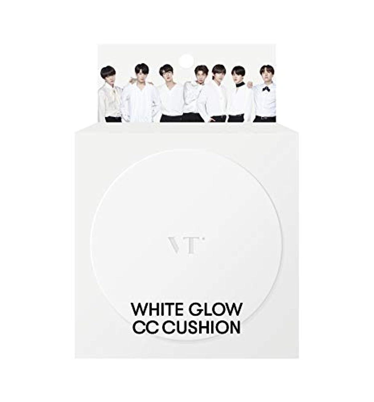 発信シャツ技術的な【正規品】VTCosmetics VT ホワイトグロウCCクッション 12g【#21アイボリー】