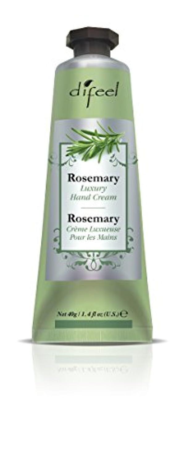 やろう有利簡単なDifeel(ディフィール) ローズマリー ナチュラル ハンドクリーム 40g ROSEMARY 06ROSn New York