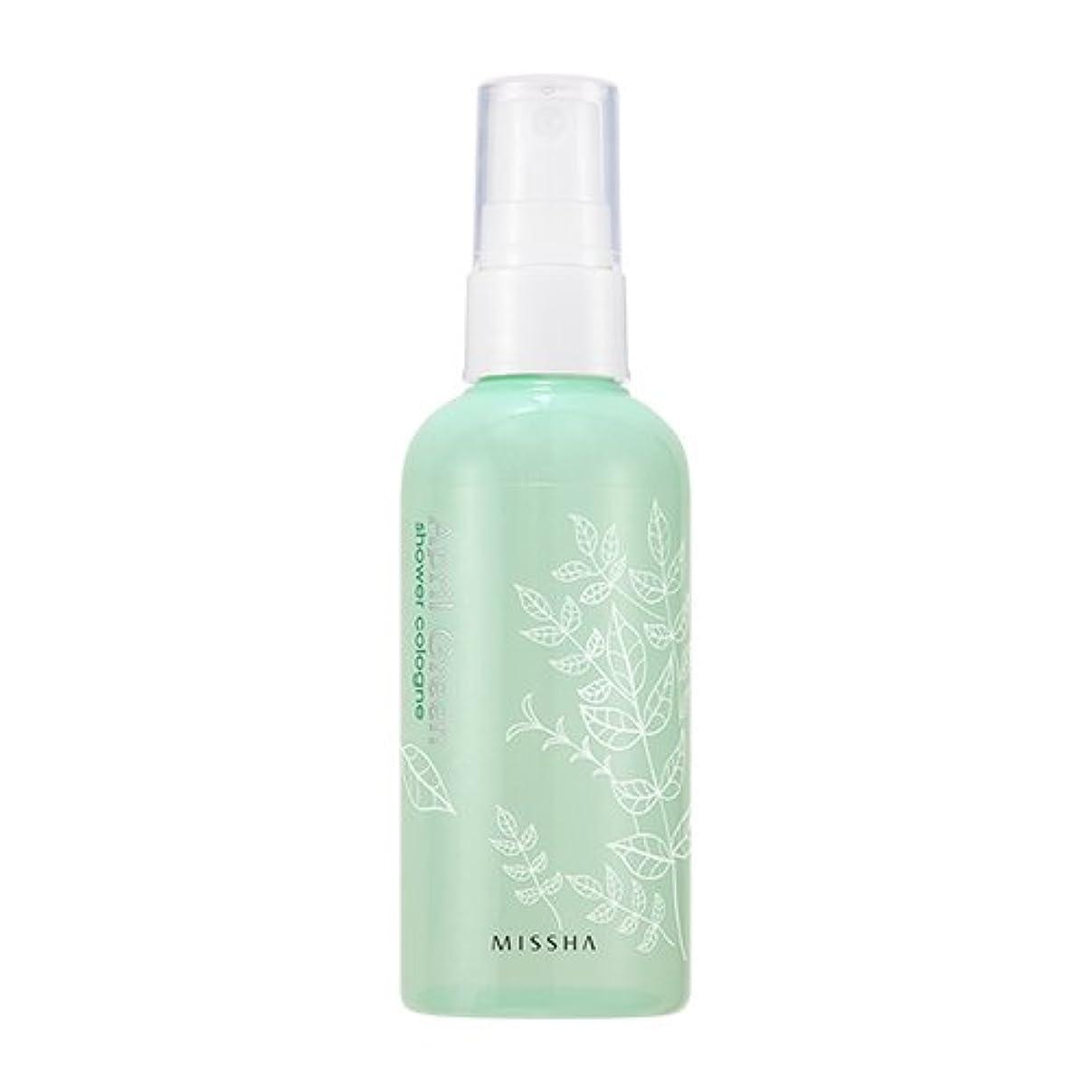 ショッピングセンター食い違い分離MISSHA Perfumed Shower Cologne April Green 105ml / ミシャ パフュームドシャワーコロン エイプリルグリーン 105ml [並行輸入品]