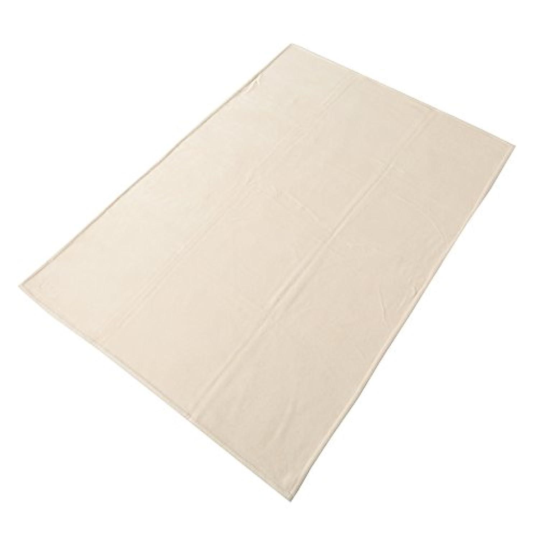 東京西川 毛布 シングル 洗える シルク100%(毛羽部分) なめらか さわやか 日本製 無地 ベージュ FQ07014000BE