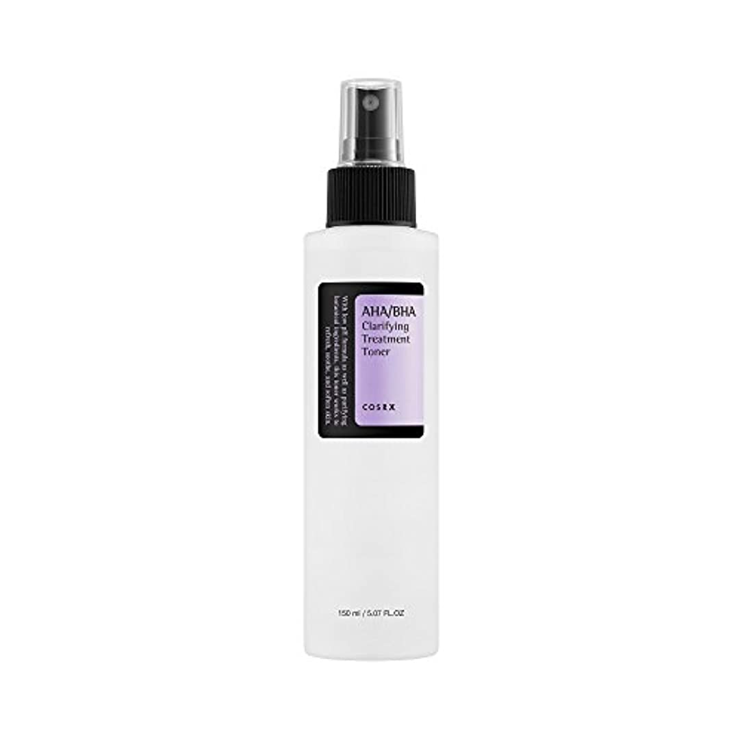 知る繊維でも(6 Pack) COSRX AHA/BHA Clarifying Treatment Toner (並行輸入品)