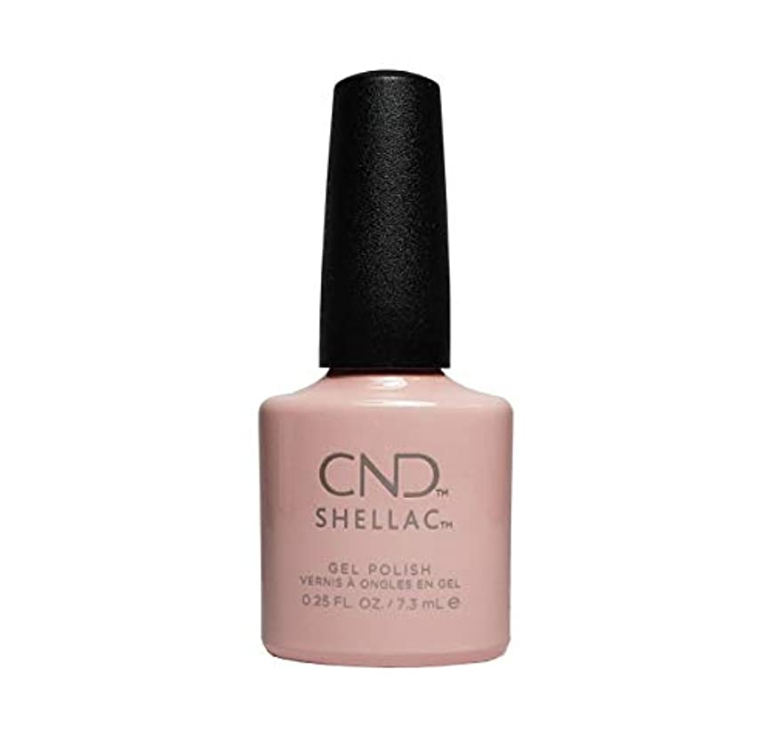 スリッパシェーバー表現CND(シーエヌディー) シェラック UVカラーコート 523 Clearly Pink 7.3ml