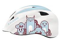 子供用自転車ヘルメット サイズ調整可 本格派子供用キッズ自転車ヘルメット EXUSTAR S(52-57cm) E-BHM503K (ホワイト)