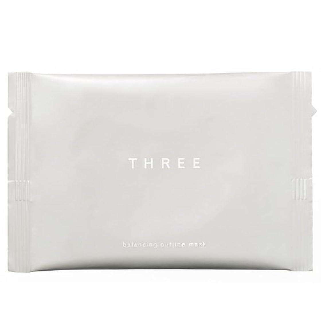 ハンバーガー他のバンドで提出するTHREE(スリー) THREE バランシング アウトラインマスク
