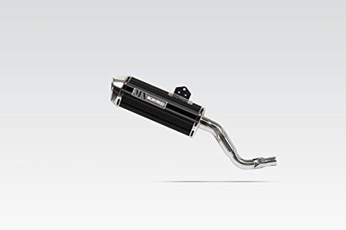 モリワキ(MORIWAKI) スリップオンマフラー MX BP(ブラックパール) CRF250L(12-)/CRF250M(12-) 01810-LN1J6-00