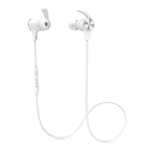 TaoTronics TT-BH07S WH【ホワイト】 Bluetooth5.0 aptX HD AAC対応 高音質 最長15時間 長持ち IPX5 Androi...