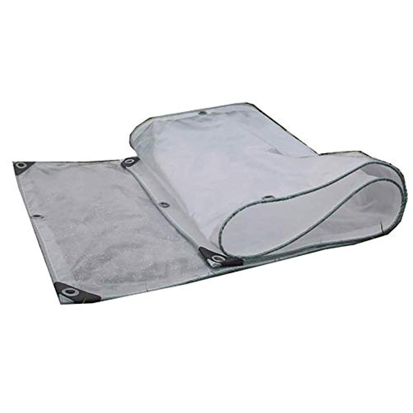 トリムネックレット賃金Lixingmingqi 屋外のテントの透明な防水シートの床カバーは雨のテントをキャンプする布を流しました