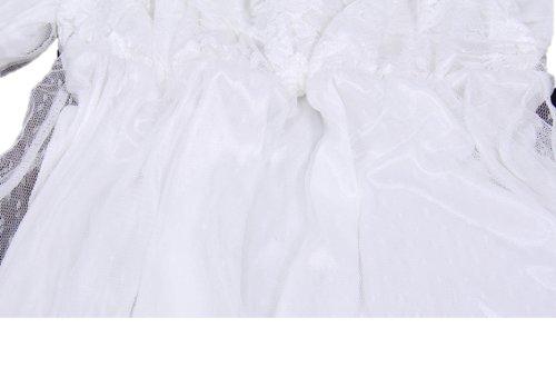 『まるでプリンセス ネグリジェ ロング 姫系 パフスリーブ が かわいい 長そで タイプ』の4枚目の画像