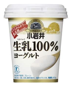 小岩井 生乳100%ヨーグルト400g 6個セット