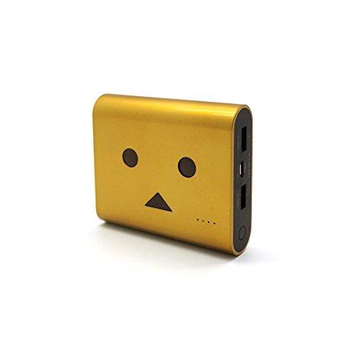 cheero Power Plus 3 13400mAh DANBOARD 大容量 モバイルバッテリー iPhoneAndroid対応 2ポートAuto-IC機能搭載 (ゴールド) CHE-067-GO
