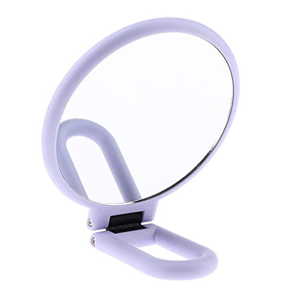 カカドゥ強盗探検F Fityle 両面化粧鏡 メイクアップミラー 折りたたみ 手持ち 旅行小物 2タイプ選べ - 5倍