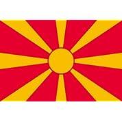世界の国旗 マケドニア国旗 90×150cm