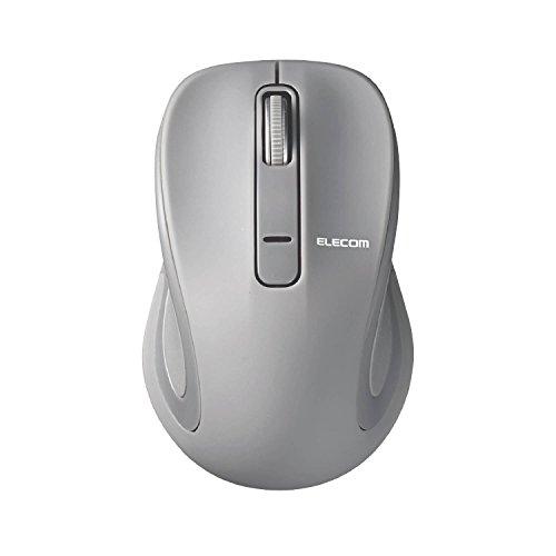 エレコム BlueLEDマウス Salalシリーズ Sサイズ Bluetooth/3ボタン グレー M-BT17BBGY 1個
