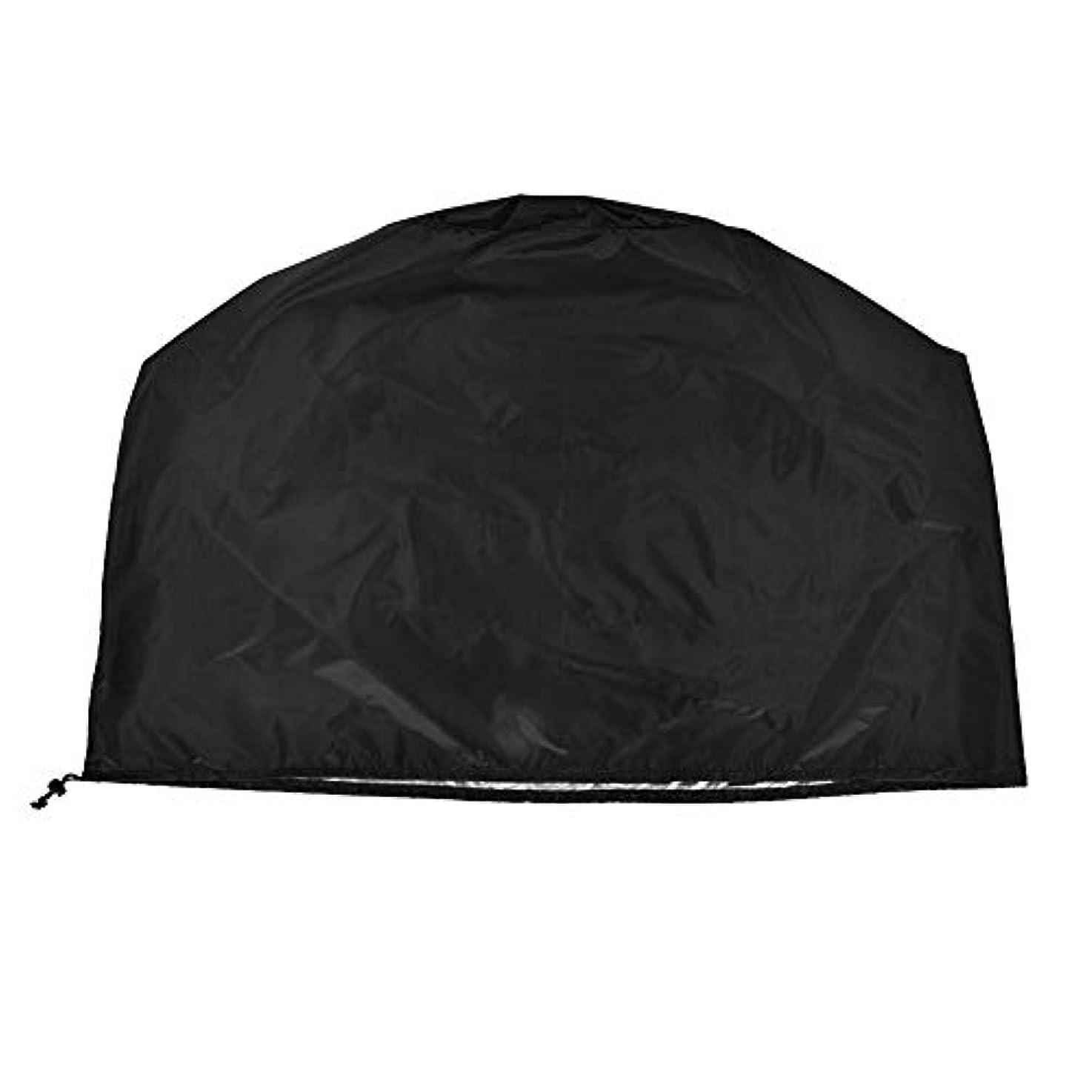 前売かび臭いパイBBQカバー、グリルカバー、防水、防塵、雪、雨、ガーデン、アウトドア、キャンプ、70*70*70cm (色 : Black)
