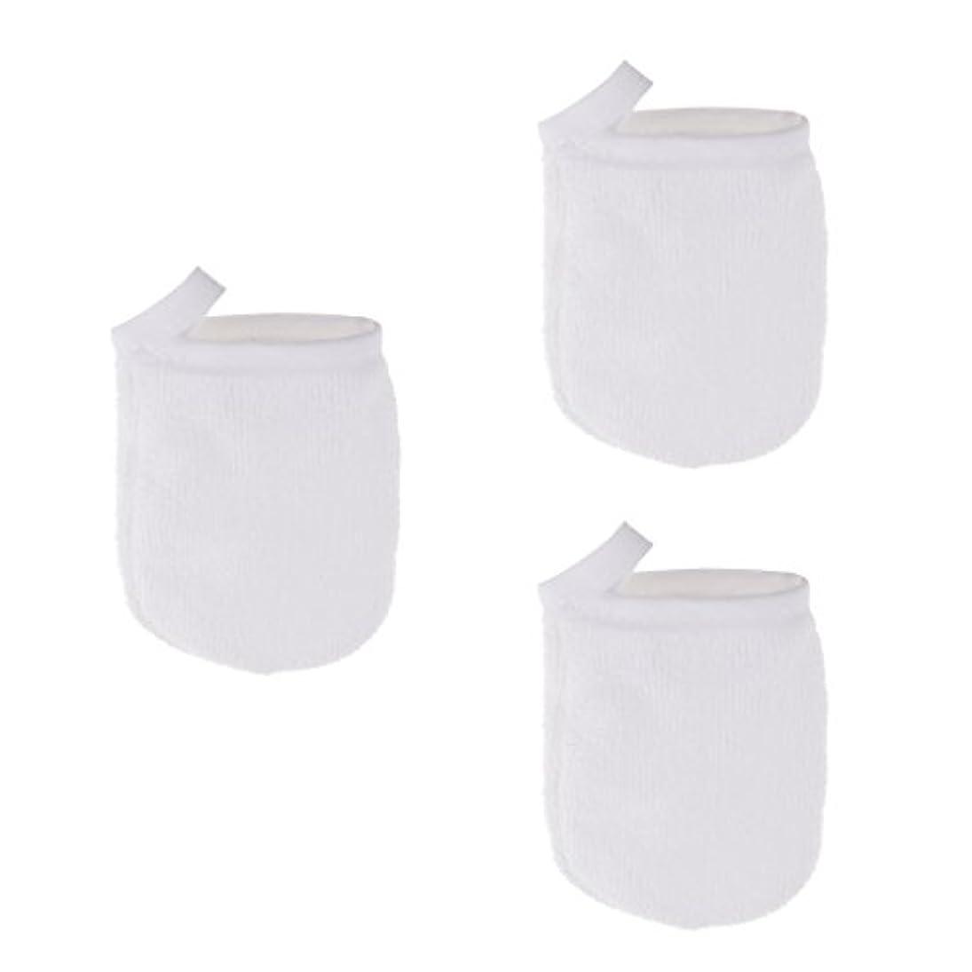 しわステッチコレクション3個 洗顔グローブ フェイシャル クレンジンググローブ 手袋 グローブ ソフト メイクリムーバークロス 再使用可能