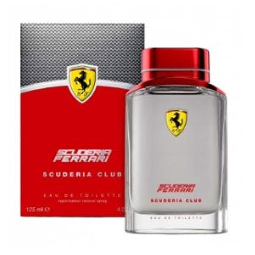 克服する機関車キャンドルFerrari Scuderia Club (フェラーリ セキュデリア クラブ)  4.2 oz (125ml)  EDT Spray by Ferrari for Men