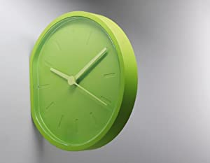 LEXON 時計 SIDE CLOCK マットグリーン LR123