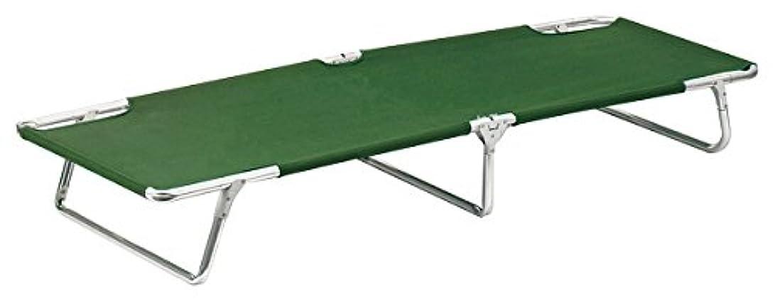 指紋イブニング測るRothco Aluminum Camp Cot , Olive Drab