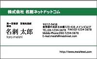 名刺100枚 MTM46 (名刺作成 名刺印刷 名刺プリント デザイン名刺 テンプレート おしゃれ 名刺ネットドットコム)