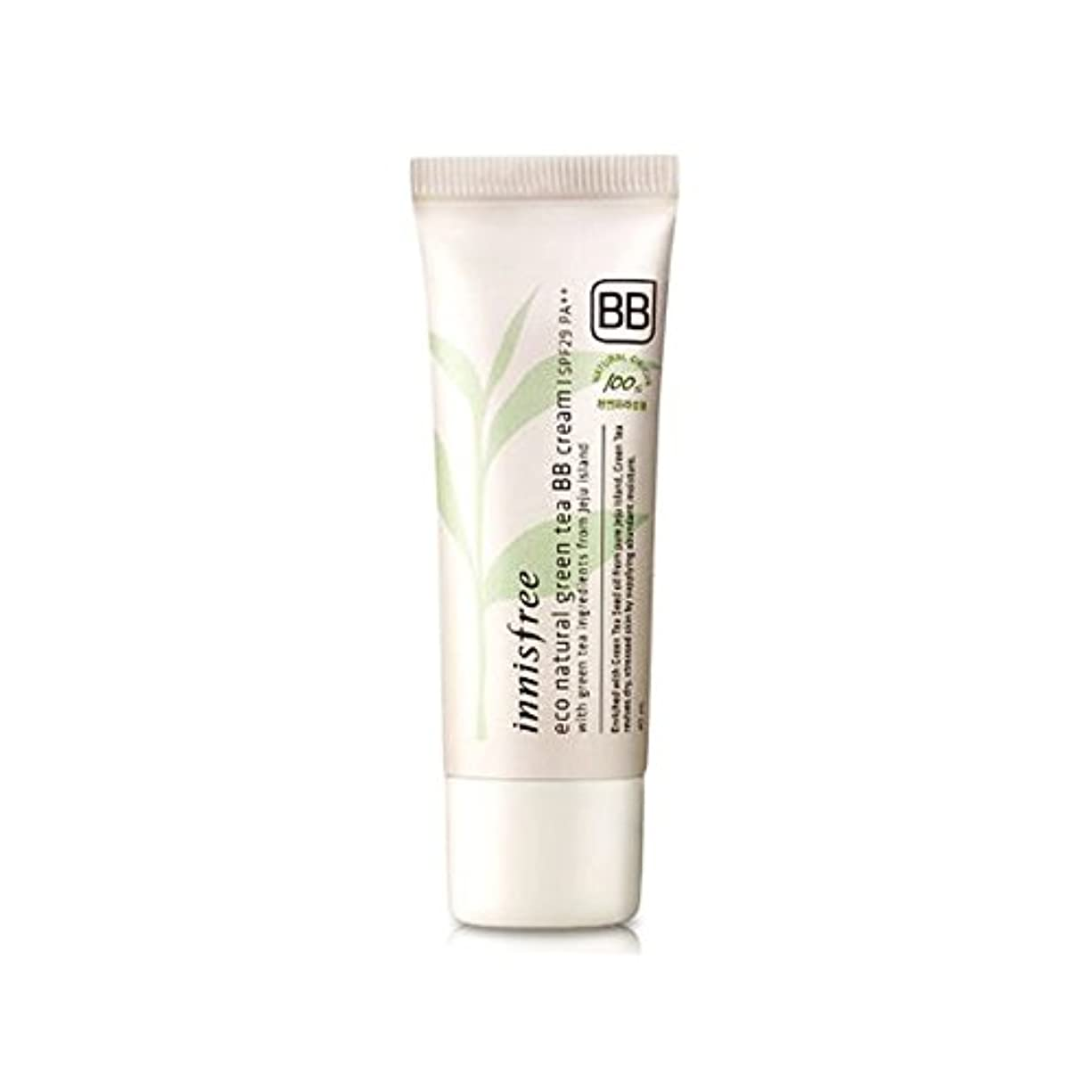 [イニスフリー]Innisfree エコ·ナチュラル緑茶のBBクリームSPF29 PA ++(40ml) Innisfree Eco Natural Green Tea BB Cream SPF29PA++(40ml)...