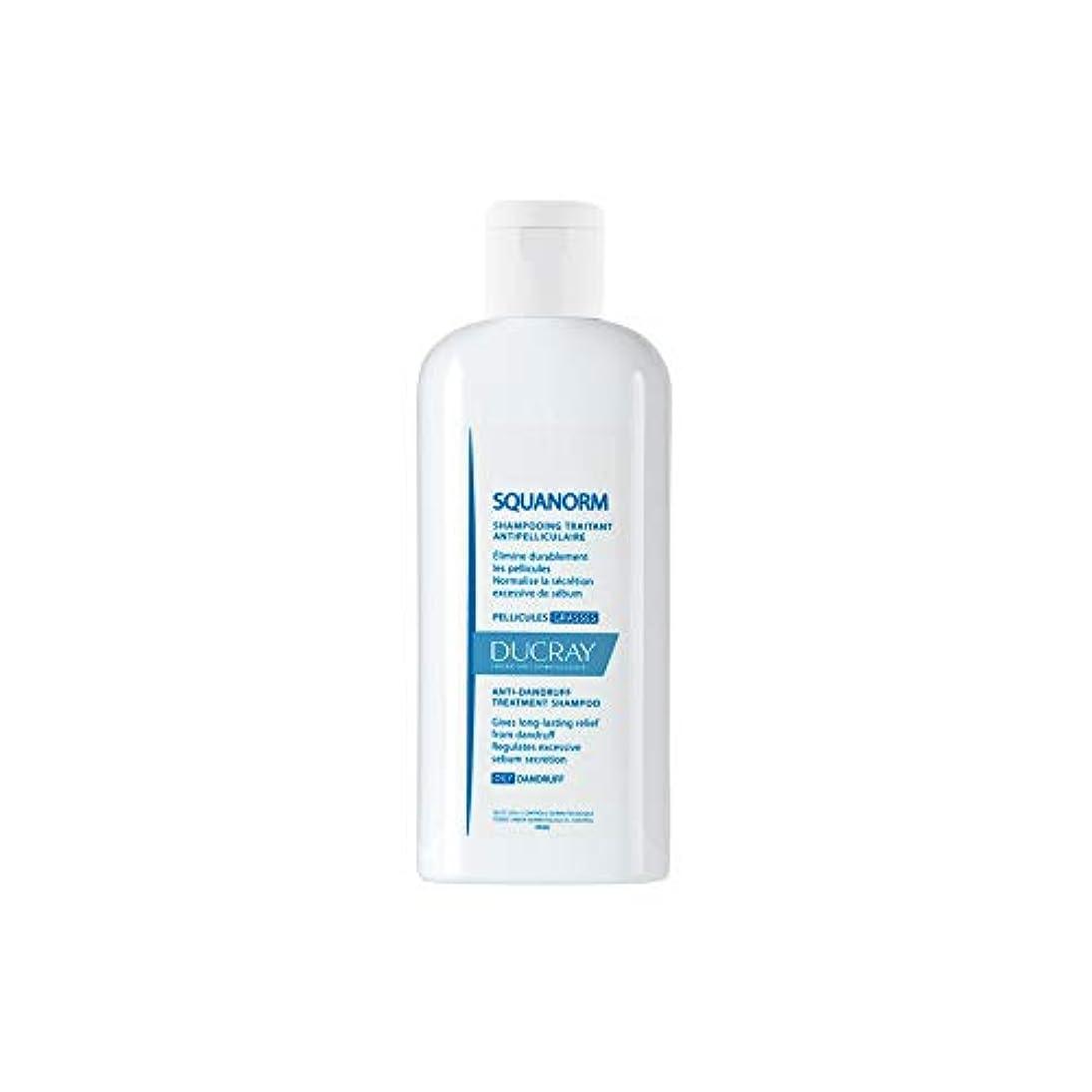 走る怖がらせる説得Ducray Squanorm Anti Oily Dandruff Shampoo 200ml by Ducray [並行輸入品]