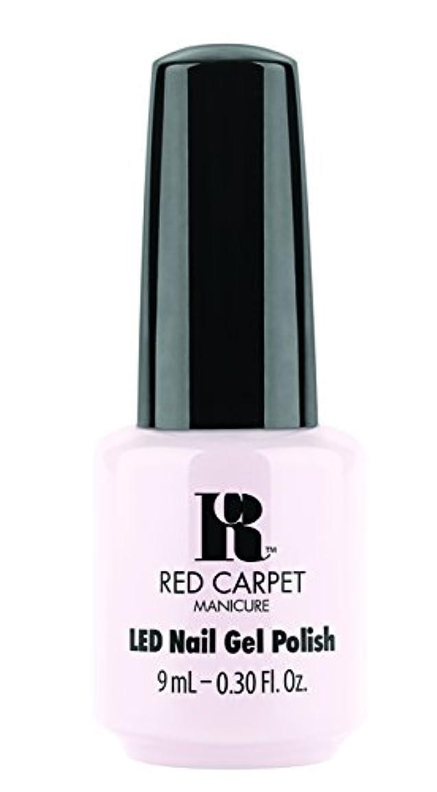 豚インド群れRed Carpet Manicure - LED Nail Gel Polish - Candid Moment - 0.3oz / 9ml