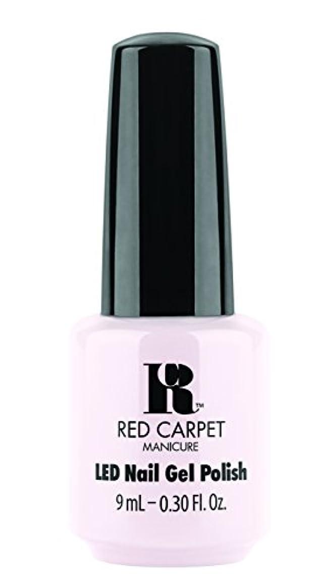 縁ラケットシャーロックホームズRed Carpet Manicure - LED Nail Gel Polish - Candid Moment - 0.3oz / 9ml