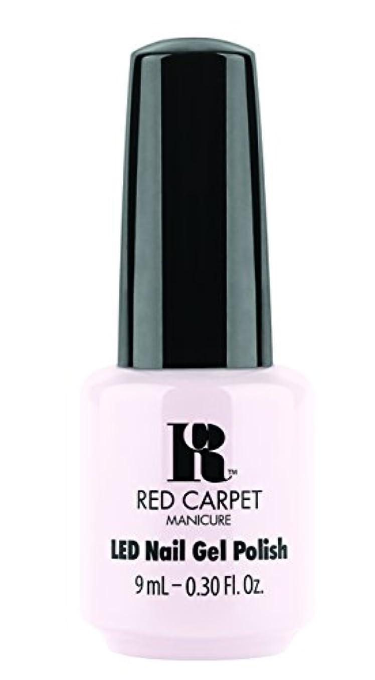 迷惑伝染病解明するRed Carpet Manicure - LED Nail Gel Polish - Candid Moment - 0.3oz / 9ml