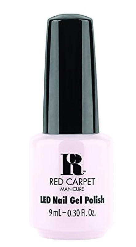 理論的トライアスリート失望Red Carpet Manicure - LED Nail Gel Polish - Candid Moment - 0.3oz / 9ml