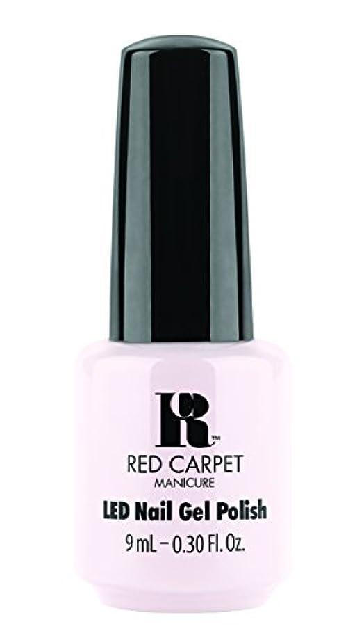 揃える午後毎年Red Carpet Manicure - LED Nail Gel Polish - Candid Moment - 0.3oz / 9ml